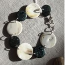 Bracelet en corne et coco
