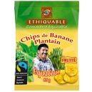 Chips fruitées de banane plantain