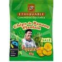 Chips salées de banane plantain
