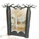Miroir Baobab Amoureux - Moyen Modèle (35x55)