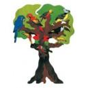 Puzzle Arbre à oiseaux d'Amérique du sud