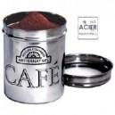 Boîte à café en inox