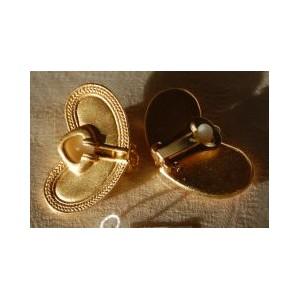 Boucles d'Oreilles Clip Précolombien